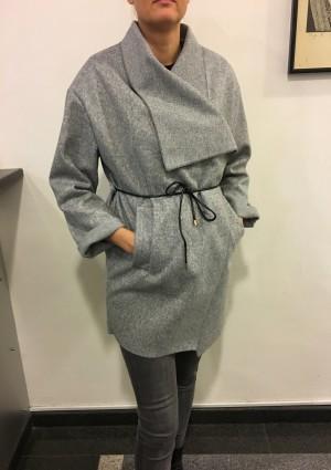 Plašč Style siv