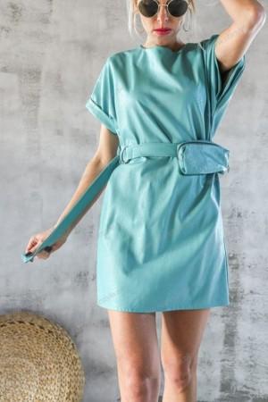 Obleka Bagi turkizna