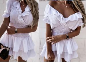 Obleka Como bela