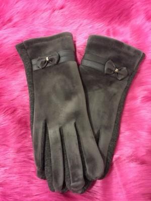Rokavice Pentlja sive