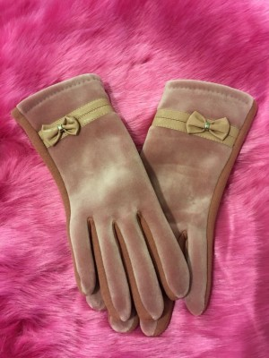 Rokavice Pentlja roza