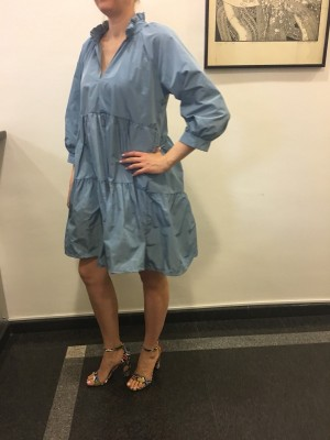 Obleka Balon modra