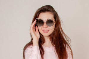 Modna očala Macka črna