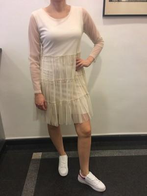 Obleka Mimosa bež