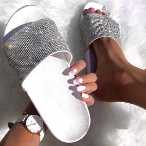 Sandali Kristal beli