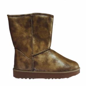Škornji Trend bronz