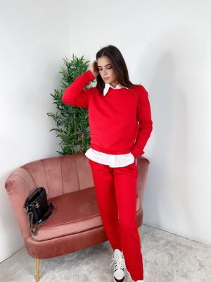 Pulover Color rdeč