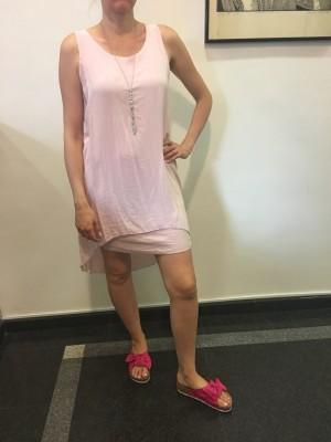 Obleka Shine roza