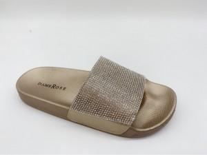 Sandali Kristal zlati