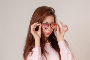 Očala Shine roza